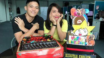 Happybirthday  teacher Jessi and teacher Jeff